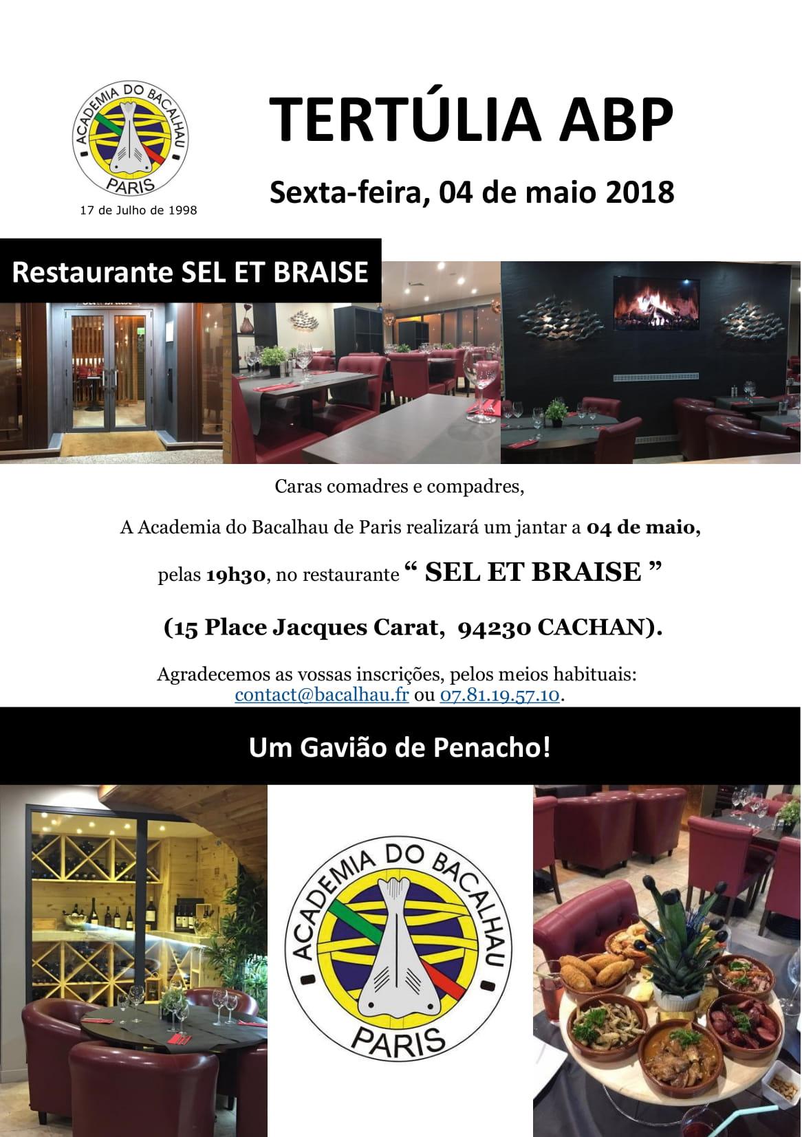 convite tertúlia 04 mai 2018 el et Braise-1