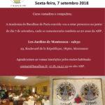 Convite Jantar 7 setembro